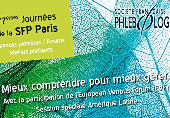 Congresso Società Francese di Flebologia dicembre 2018
